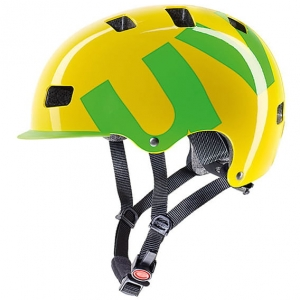 Kask rowerowy Uvex - HLMT 5 Bike pro Yellow-Green R: S-M (55-58cm)