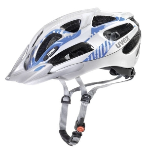 Kask rowerowy Uvex - Supersonic Silver Blue R: XXS-M (52-57cm)