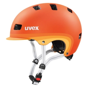 Kask rowerowy Uvex - City 5 Orange Metallic Mat R: M-XL (58-61cm)