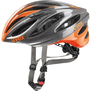 Kask rowerowy Uvex Boss Race Grey Neon Orange R:52-56cm