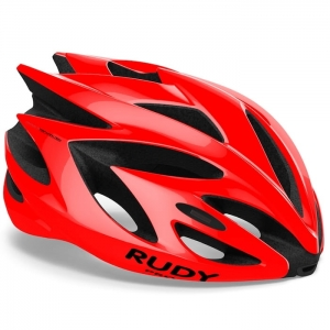 Kask Rudy Project Rush Red Fire Shiny R: M (54-58cm)