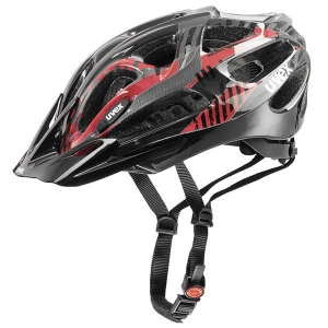 Kask rowerowy Uvex - Supersonic Black Red R: (52-57cm)