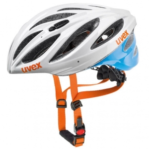 Kask rowerowy Uvex Boss Race White Blue R:(52-56cm)